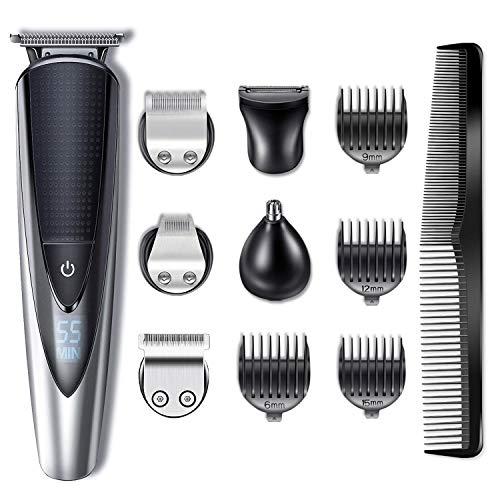 Hatteker Bartschneider Haarschneider Herren Haarschneidemaschine Haartrimmer Bartschneider Bart...