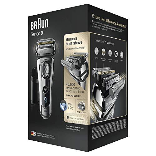 Braun Series 9 9297cc Elektrischer Rasierer, chrom